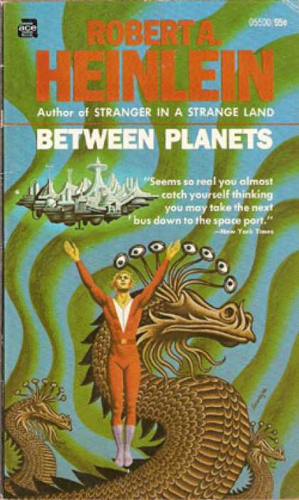 Ace Books - Between Planets - Robert a Heinlein