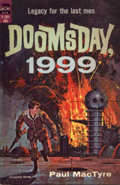 Ace Books - Doomsday 1999 - Paul Mactyre