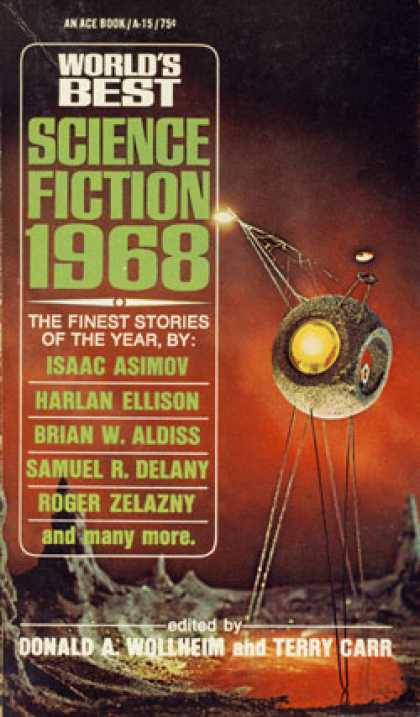 Ace Books - World's Best Science Fiction: 1968 - Wollheim and Carr