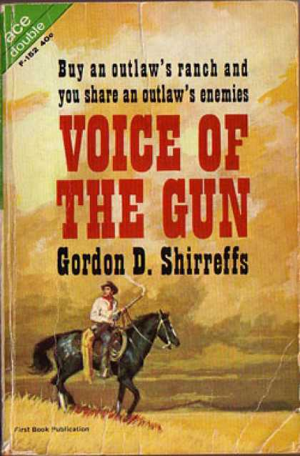 Ace Books - Voice of the Gun / Rio Desperado - Gordon D. Shirreffs