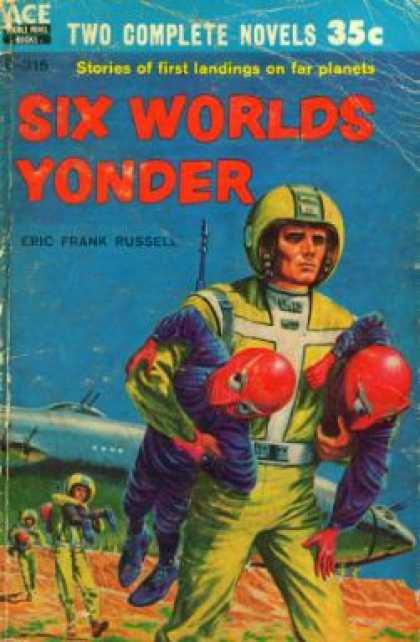 Ace Books - Six Worlds Yonder - Eric Frank Russell