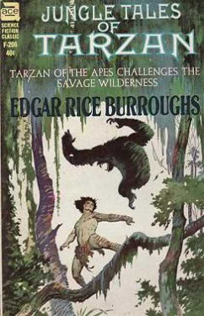 Ace Books - Jungle Tales of Tarzan - Edgar Rice Burroughs
