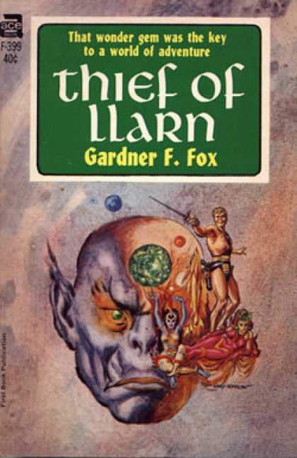 Ace Books - Thief of Llarn - Gardner F. Fox