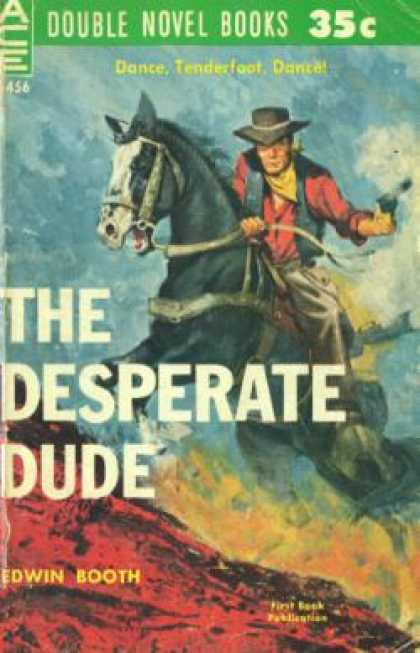Ace Books - The Desperate Dude - Edwin Booth