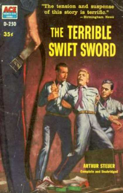 Ace Books - The Terrible Swift Sword - Arthur Steuer