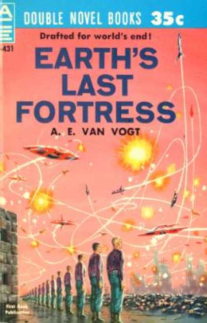 Ace Books - Earth's Last Fortress - A.E. Van Vogt