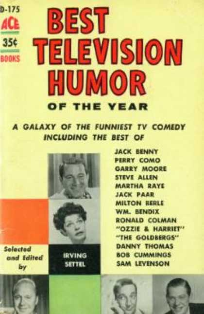 Ace Books - Best Television Humor of the Year - Irving Settel