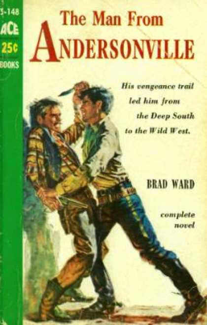 Ace Books - The Man From Andersonville - Brad Ward
