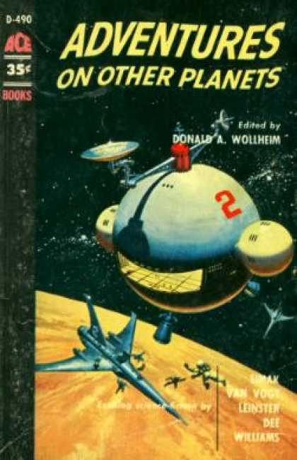 Ace Books - Adventures On Other Planets