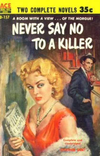 Ace Books - Stab In the Dark and Never Say No To a Killer - Louis Trimble