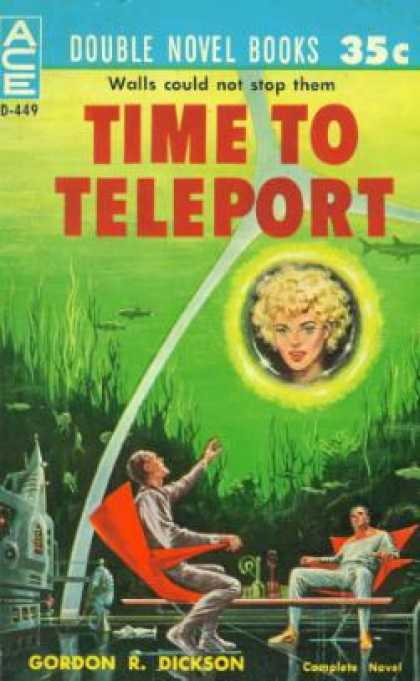 Ace Books - Time To Teleport / the Genetic General - Gordon R. Dickson