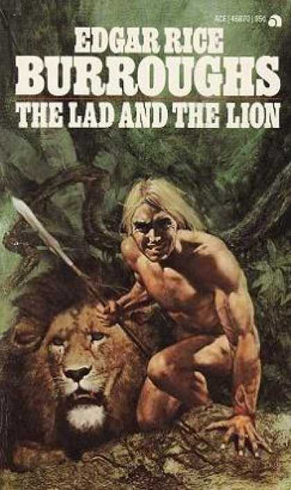 Ace Books - The Lad and the Lion - Edgar Rice Burroughs