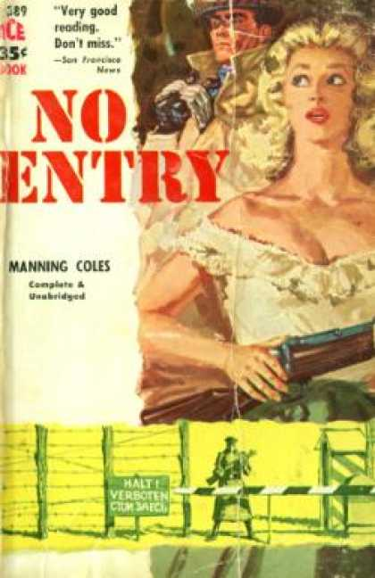 Ace Books - No Entry