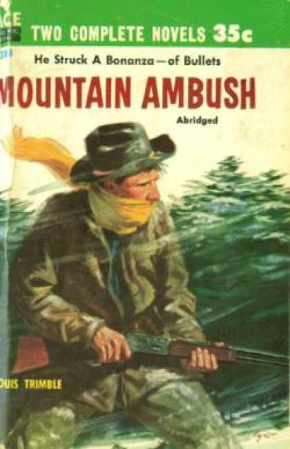 Ace Books - Feud Fury / Mountain Ambush - Jack M. Bickham