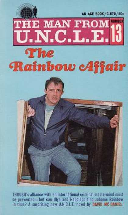 Ace Books - The Man From Uncle #13 the Rainbow Affair - David Mcdaniel
