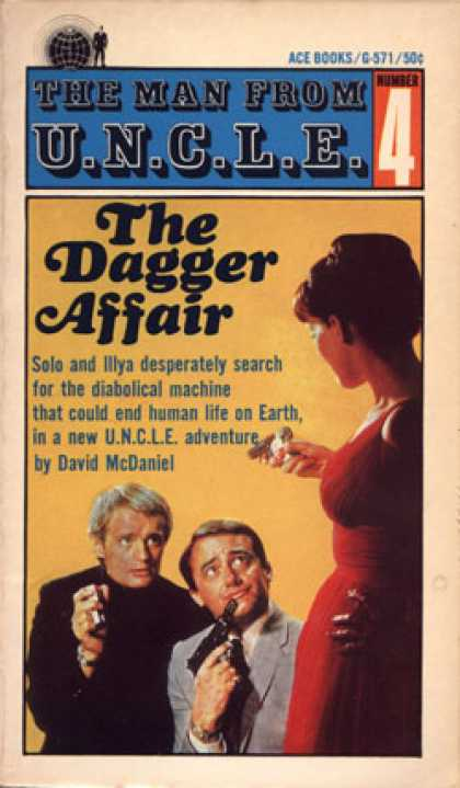 Ace Books - The Dagger Affair - David Mcdaniel