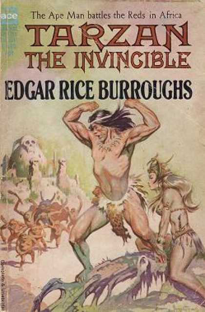 Ace Books - Tarzan the Invincible - Edgar Rice Burroughs