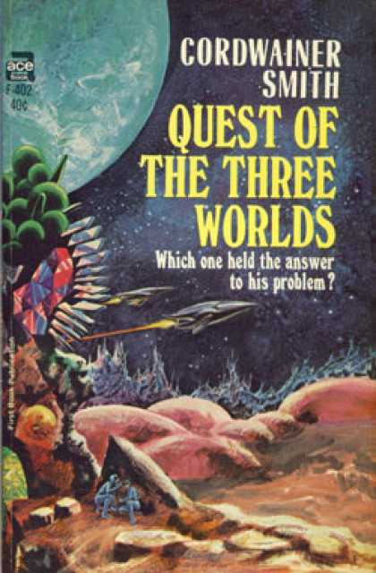 Ace Books - Quest of the Three Worlds