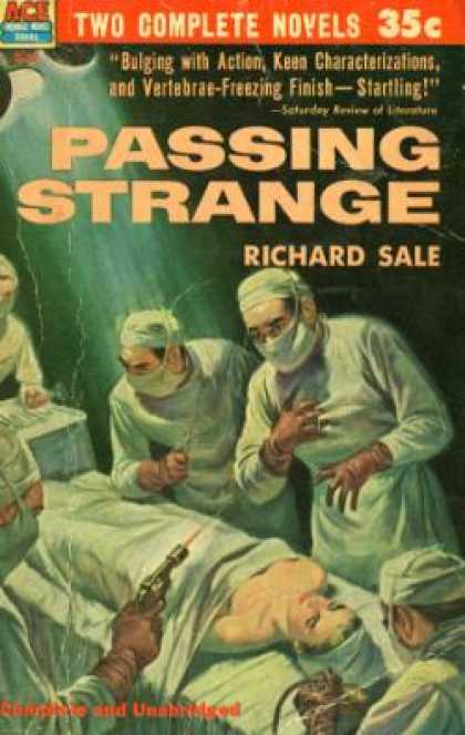 Ace Books - Bring Back Her Body / Passing Strange - Stuart Brock