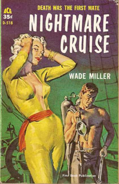 Ace Books - Nightmare Cruise - Wade Miller