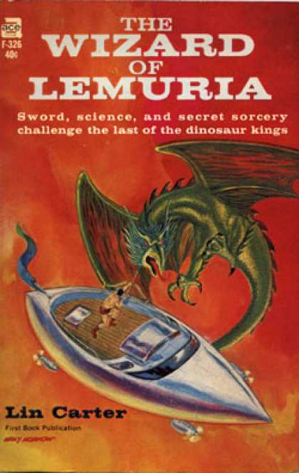 Ace Books - The Wizard of Lemuria F-326 - Lin Carter
