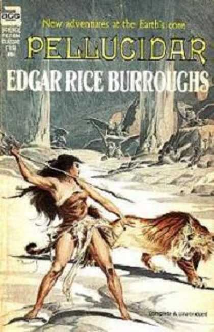 Ace Books - Pellucidar - Edgar Rice Burroughs