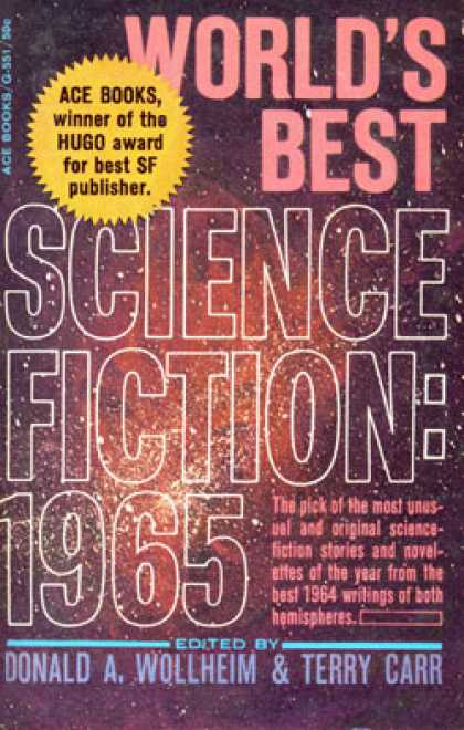 Ace Books - World's Best Science Fiction 1965 - Doanld A. Wollheim