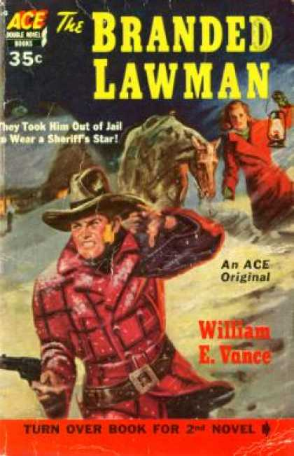 Ace Books - The Branded Lawman - William E. Vance