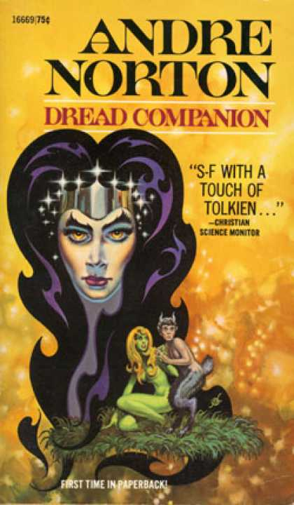 Ace Books - Dread Companion - Andre Norton