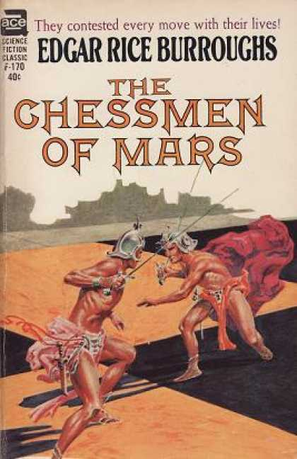 Ace Books - The Chessmen of Mars (ace Sf Classic, F-170)