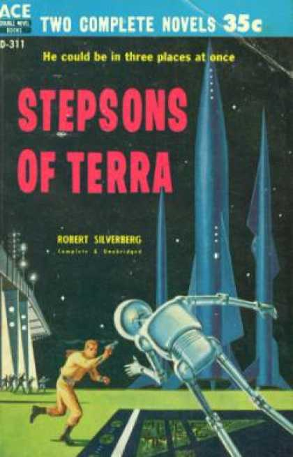 Ace Books - Stepsons of Terra / a Man Called Destiny - Robert Silverberg