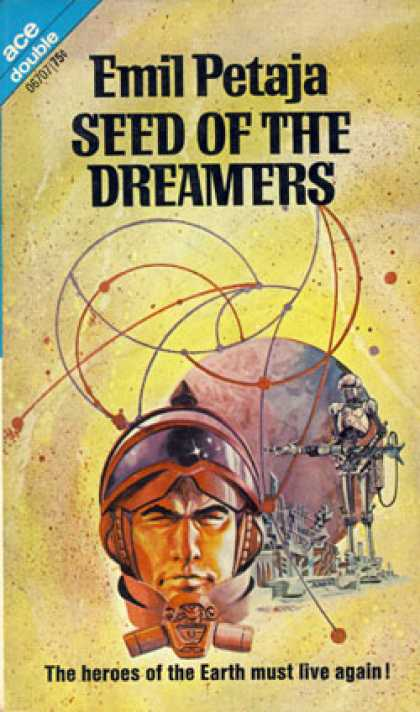Ace Books - Seed of the Dreamers/ the Blind Worm - Emil Petaja