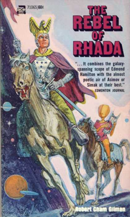 Ace Books - The Rebel of Rhada - Gilman Robert Cham