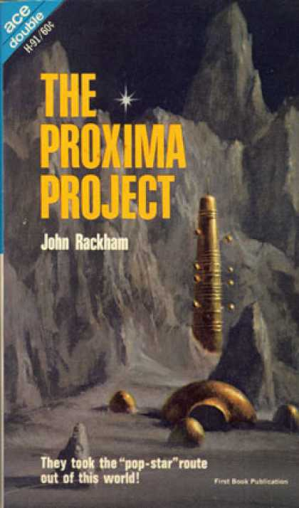 Ace Books - Target: Terra and the Proxima Project - Laurence M., S. J. Treibich, and John Ra
