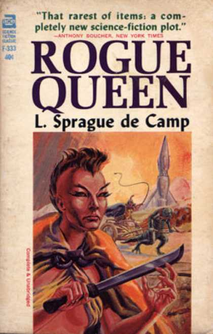 Ace Books - Rogue Queen - L. Sprague De Camp