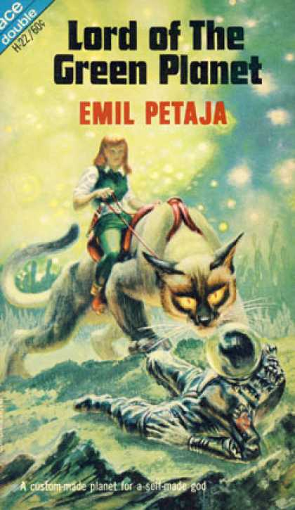 Ace Books - Lord of the Green Planet / Five Against Arlane - Emil Petaja