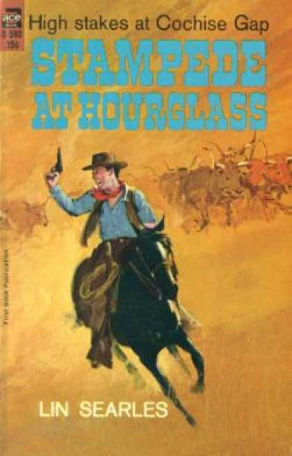Ace Books - Stampede at Hourglass - Lin Searles