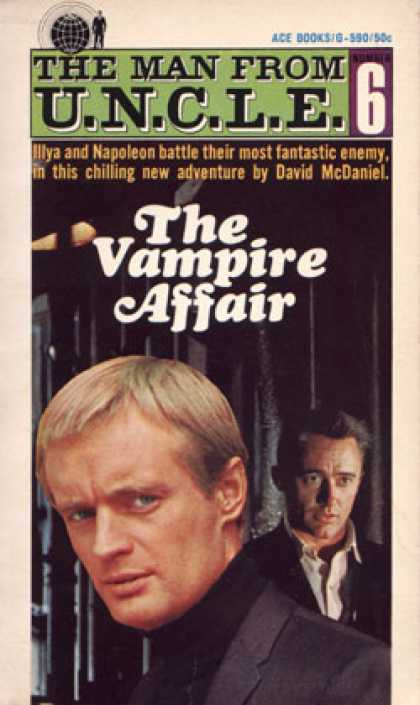 Ace Books - The Vampire Affair - David Mcdaniel