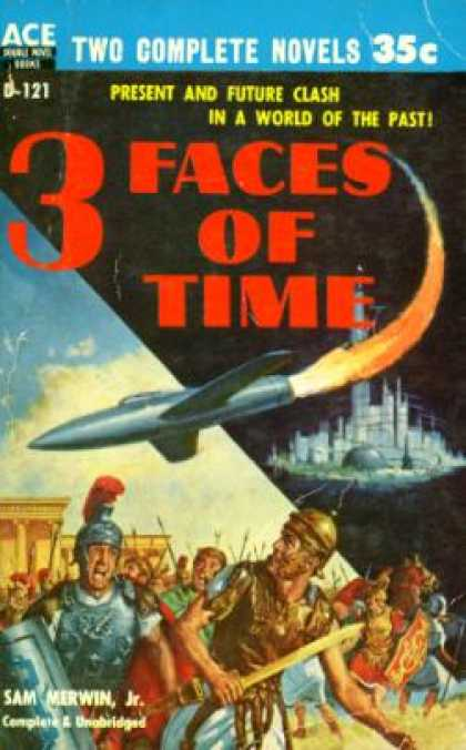 Ace Books - The Stars Are Ours! / 3 Faces of Time - Andre Norton