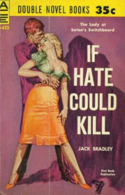 Ace Books - If Hate Could Kill / the Smasher - Jack / Powell, Talmage Bradley