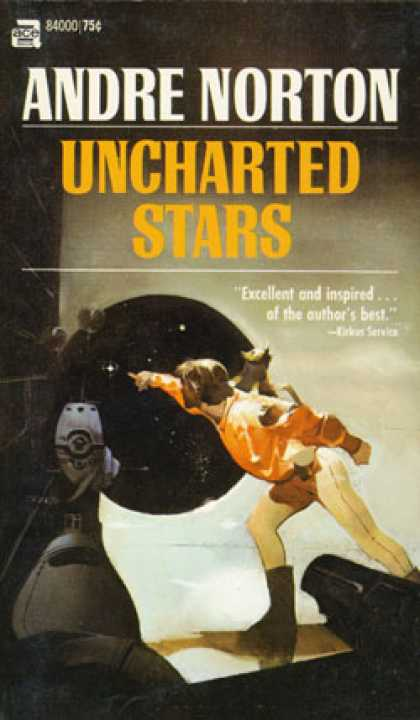 Ace Books - Murdoc Jern Series: The Zero Stone & Uncharted Stars - Andre Norton