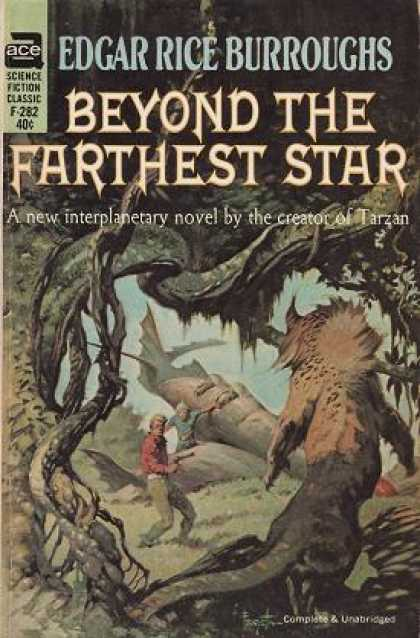 Ace Books - Beyond the Farthest Star - Edgar Rice Burroughs