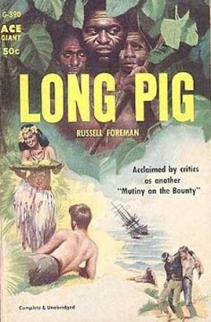 Ace Books - Long Pig - Russell Foreman
