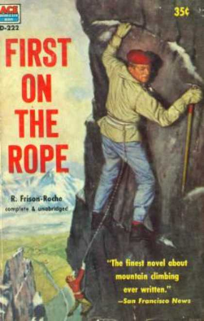 Ace Books - First On the Rope - R. Frison-roche