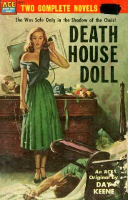 Ace Books - Death House Doll - Day Keene