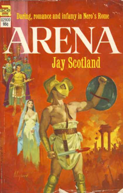 Ace Books - Arena. - Jay Scotland.