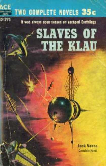 Ace Books - Big Planet / Slaves of the Klau - Jack Vance