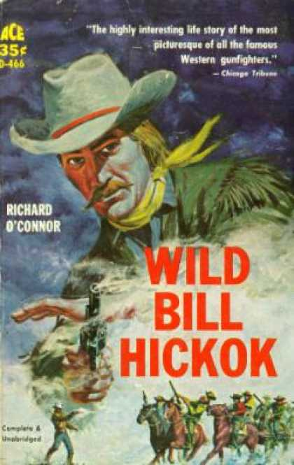 Ace Books - Wild Bill Hickok - Richard O'Connor