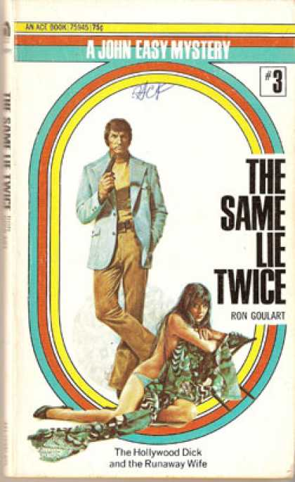 Ace Books - The Same Lie Twice - Ron Goulart