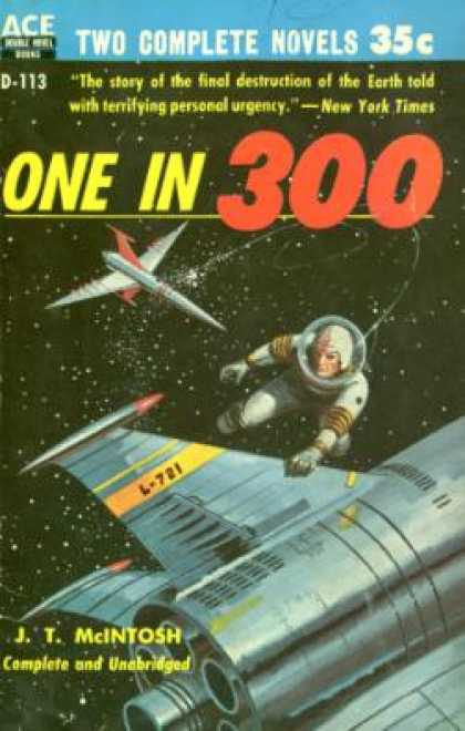 Ace Books - One In Three Hundred - J. T Mcintosh